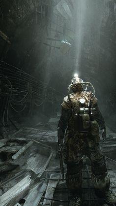47 Best Ideas For Steampunk Concept Art Character Post Apocalyptic Metro 2033, Cyberpunk, 3d Fantasy, Dark Fantasy, Fallout, Metro Last Light, Arte Zombie, Steampunk, Bg Design