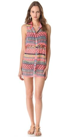 Click Image Above To Purchase: Mara Hoffman Frida Lattice Tunic Cover Up Mara Hoffman, I Love Fashion, Passion For Fashion, Summer Outfits, Cute Outfits, Summer Clothes, Weather Wear, Warm Weather, Fashion Outfits