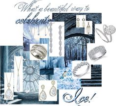 """Winter Diamonds"" by the-diamond-room on Polyvore"
