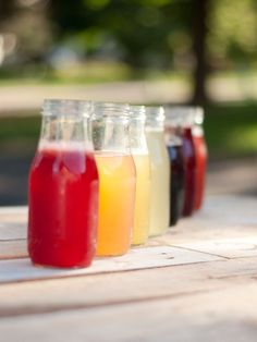 How to make Fruit Simple Syrups that are fantastic for homemade sun tea or summer cocktails | This Heart of Mine