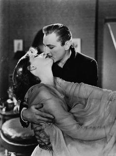 "Greta Garbo & John Barrymore en ""Grand Hotel"" / ""Gran Hotel"" (1932)"