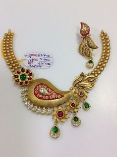 Gold Jewelry Making Antique Jewellery Designs, Gold Earrings Designs, Gold Jewellery Design, Gold Designs, Diamond Jewellery, Gold Chocker Necklace, Choker, Gold Jewelry Simple, Jewellery Sketches