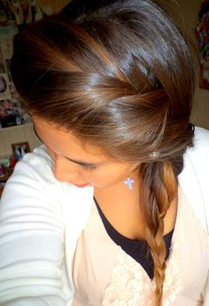 Hair. Braid