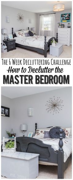 How to declutter a m