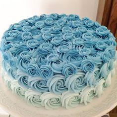 Cupcake Smash Cakes, Fondant Cupcakes, Baby Shower Cakes For Boys, Baby Shower Decorations For Boys, 1st Birthday Cakes, Frozen Birthday, Cadeau Baby Shower, Christening Cake Boy, Buttercream Birthday Cake