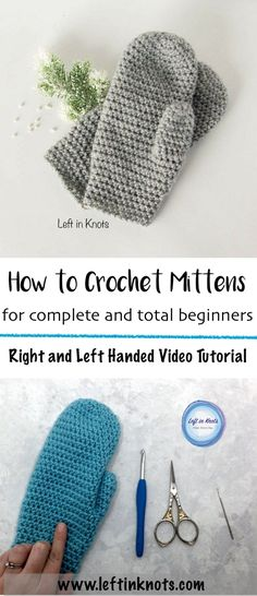 This video tutorial will cover every skill you will need to make a beginner friendly crocheted mitten. Once you get this one down, you can start to customize this pattern which is perfect for selling and gifting :) Play with colors, stripes, animal faces...you name it! Once you master this technique you have endless options ahead. #freecrochetpattern #crochetmittens #videotutorial