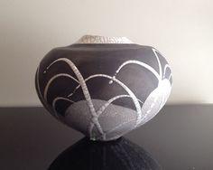 Tony Evans Raku Pottery Vase.. in love w this!