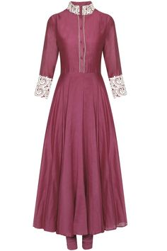 Maroon chanderi anarkali suit set available only at Pernia's Pop Up Shop.#perniaspopupshop #shopnow #clothing#festive #newcollection #surendribyyogeshchaudhary #happyshopping