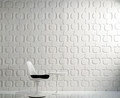Funky 3d wall panel. http://www.affordablehomeinnovations.com/