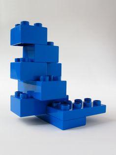 BRICK ART BLUE - VUE 3