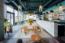 Urban Jungle on a Plate at Kane World Food Studio Restaurant in Bucharest