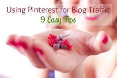 Using Pinterest for Blog Traffic
