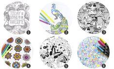 18 láminas para imprimir y colorear para adultos