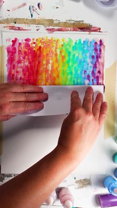 Dots and Smear-Satisfying! by Josie Lewis - Malerei Tipps - Art Mundo Hippie, Art Diy, Diy Canvas Art, Canvas Canvas, Canvas Crafts, Art Club, Simple Art, Art Plastique, Art Techniques