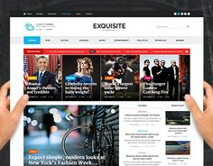 Exquisite - Ultimate Newspaper Theme