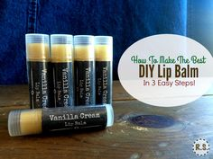 A super easy lip balm recipe you will love. This DIY lip balm is healing, homemade & the best. You will love the simplicity of the recipe and the soothing feel on your lips.