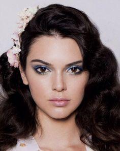 Makeup at DVF Spring 2016 by Pat McGrath