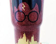 Glitter Tumbler | Glitter YETI, Personalized RTIC, Gift for Her, Glitter Rambler,
