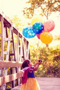 Snow White theme. Birthday shoot