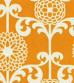 Home Decor Print Fabric- Waverly Fun Floret Citrus Orange sale $14.99     Share:      Be the first to rate this product!  #12222568  reg. 29.99 SALE 14.99