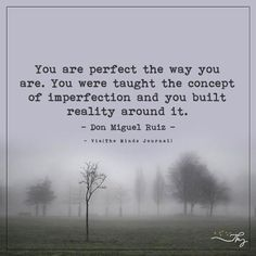 You are perfect the way you are - http://themindsjournal.com/you-are-perfect-the-way-you-are/
