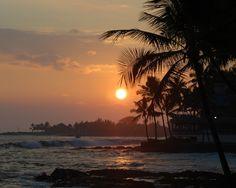 Sunset Kailua Kona, Hawaii
