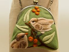 Nature's Song ~ @Marta McCall this is the sweetest little purse! I wish it was in my closet right now :)