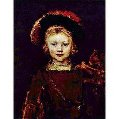 Rembrandt's unfinished portrait of his son
