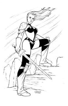 Taarna : Gene Gonzales Comic Art