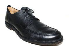 $55.00 FRYE Mens Oxford Shoes Leather Black Size 10 D  #Frye #Oxfords