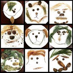 Crafts For Preschoolers Sticktivities Workshop Preschool Art Activities, Autumn Activities, Leaf Crafts, Fall Crafts, Land Art, Art For Kids, Crafts For Kids, Kindergarten Art, Autumn Art