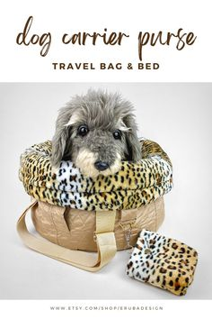 The Swiss-based brand ERUBA creates exclusive dog carrier bags and pet travel beds from old clothes and recycled leftover fabrics. The spacious and nest-like travel beds give dogs and puppies a feeling of calm and security when they are out and about. Each of the luxury designer dog carrier purses is unique! The upcycled travel bags are ideal companions for style-conscious dog lovers, individualists and low waste enthusiasts. #dogs #doglovers #dogaccessories #petsupplies Small Pet Carrier, Dog Carrier Purse, Dog Carrier Bag, Designer Dog Carriers, Puppy Supplies, Pet Travel, Travel Bags, Pet Carriers, Small Dog Breeds