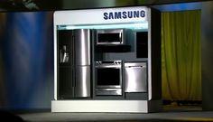 #Liveblog Los aparatos con los que Samsung quiere construir el hogar del futuro #CES2015 Samsung, French Door Refrigerator, French Doors, Kitchen Appliances, Internet Of Things, Home, Gadgets, Future Tense, Diy Kitchen Appliances