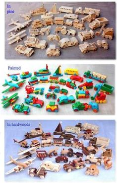 04-FS-151 - First Toys Collection - all 28 vehicle woodworking plans included.