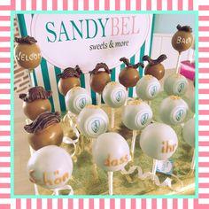 Schön dass ihr wieder da seid! #cakepops für das Team der Pilsbar Millionär by #sandybel #welcomeback