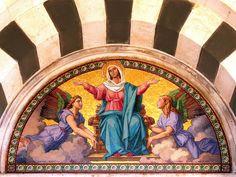 https://flic.kr/p/4EUYiP | Mosaic Above The Main Portal Of The Basilica, Notre Dame De La Garde, Marseille, France | Mosaïque au-dessus du portail principal de la basilique, Notre Dame de La Garde, Marseille, France
