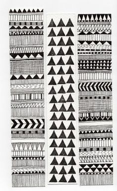 geometric. Would be so fun to make a b quilt