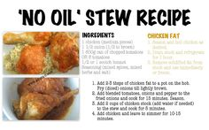 #Nigerian Stew recipe using animal fat from chicken stock (#homemade). This helped me years ago when I was on #weightwatchers