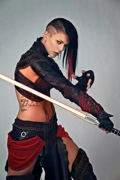 Star Wars: Sith Cosplay (Miss Sinister) Action Pose Reference, Human Poses Reference, Pose Reference Photo, Female Reference, Action Posen, Sword Poses, Fighting Poses, Figure Poses, Poses References