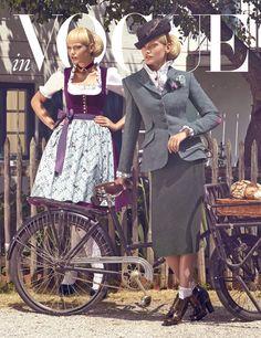 LODENFREY | VOGUE TRACHTEN-SHOOTING www.lodenfrey.com