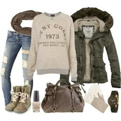 I found 'Casual Winter Outfit' on Wish, check it out!