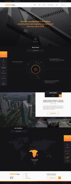Driver Group Concept by Green Chameleon /* Hi Friends, want to see more pins like this? Make sure to follow our board @moirestudiosjkt #webdesign */
