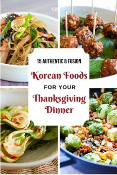 15 Korean Recipes for Thanksgiving Dinner! 15 Korean Recipes for your Thanksgiving Dinner! Here are some of my best Korean recipes that you may want to try. And many of them are naturally gluten free and vegan! Korean Thanksgiving, Thanksgiving Dinner Recipes, Thanksgiving Sides, Korean Appetizers, Best Korean Food, Korean Bbq, Korean Side Dishes, Asian Vegetables, Veggies