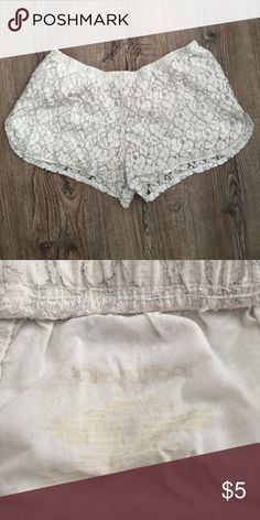 Lounging shorts. So comfy! Cute shorts, perfect for a bathing suit cover or lounging around!! Xhilaration Shorts