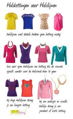 Halskettingen voor je halslijnen | www.lidathiry.nl | klik op de foto voor het blog