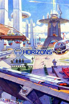 EPCOT - Horizons Concept Art