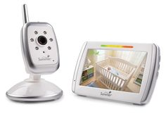 Summer Infant Wide View Digital Color Video Monitor is a fully digital color video monitor that enables parents to privately and securely see more of baby& room with its wide angle lens camera. Features remote zoom, night vision and communication. Hd Led, Sleep Sacks, Baby Monitor, Babies R Us, Baby Health, Health Care, Baby Safety, Toys R Us, Baby Registry