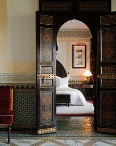 stay at La Mamounia Htoel in Marrakech as a base for borwing in Jemaa el-fna bazaar
