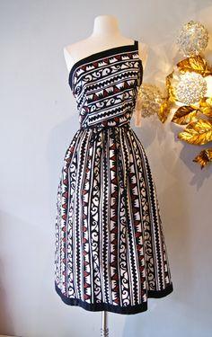 1950's Hawaiian Dress