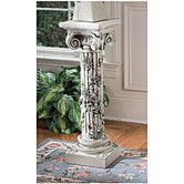 Found it at Wayfair - The Rose Garland Pedestal Plant Stand160